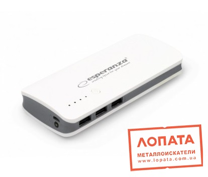 Esperanza 8000 mAh White/Grey